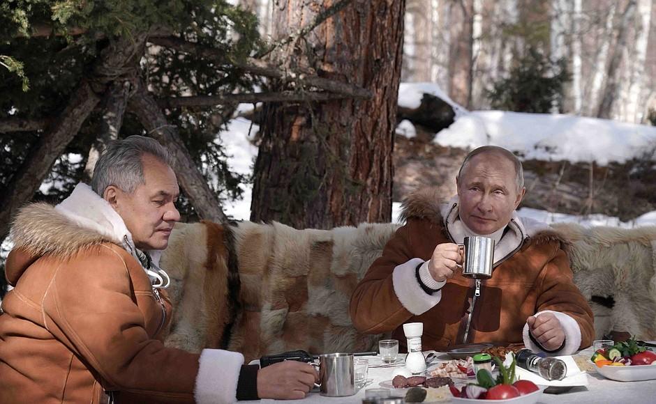 Путін в тайзі