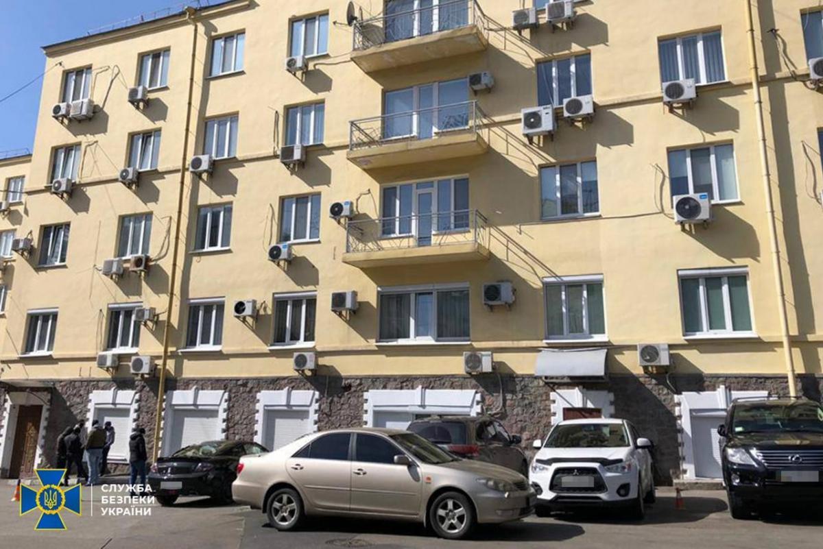Офіс організації Український вибір, якою керує Віктор Медведчук, обшукували