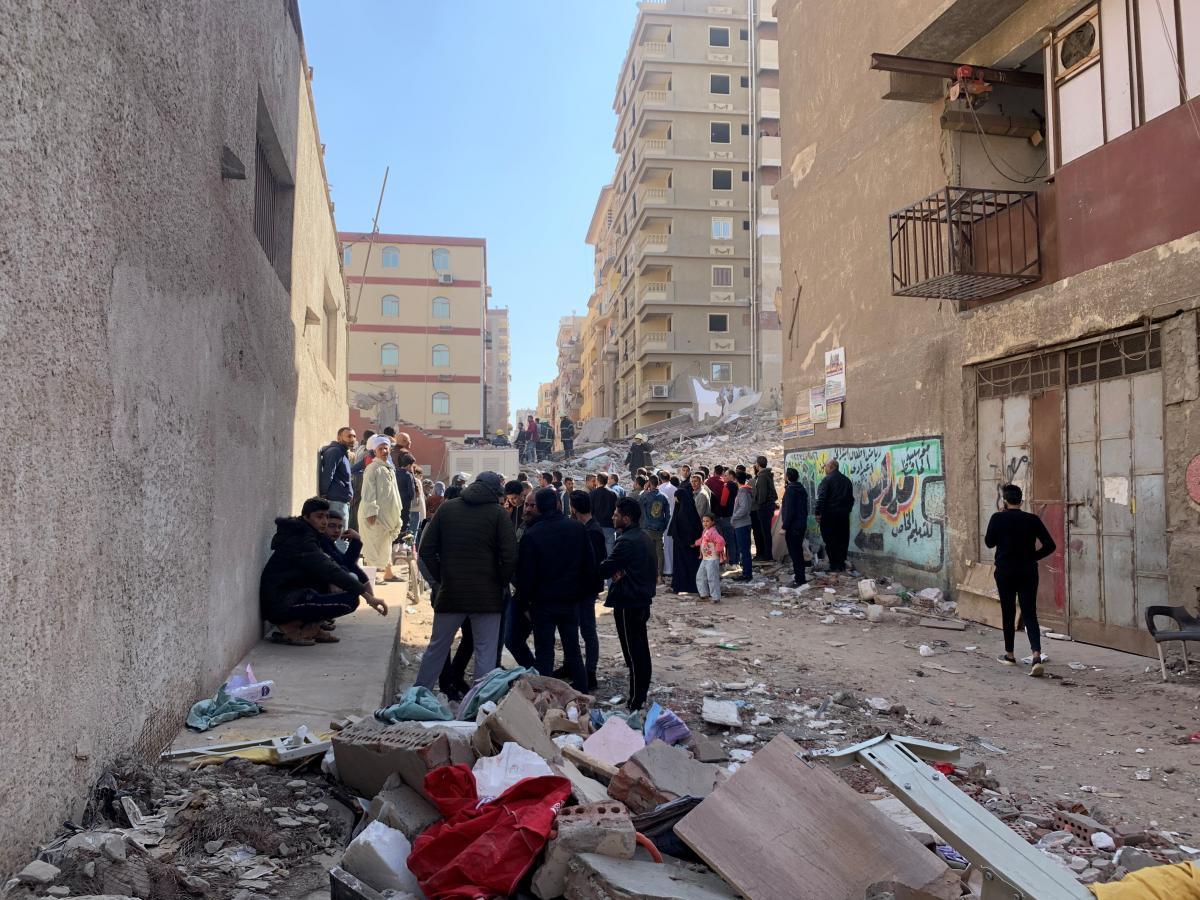 обвалення будинку, Каїр