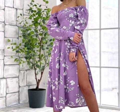 Модные длинные платья весна-лето  2021