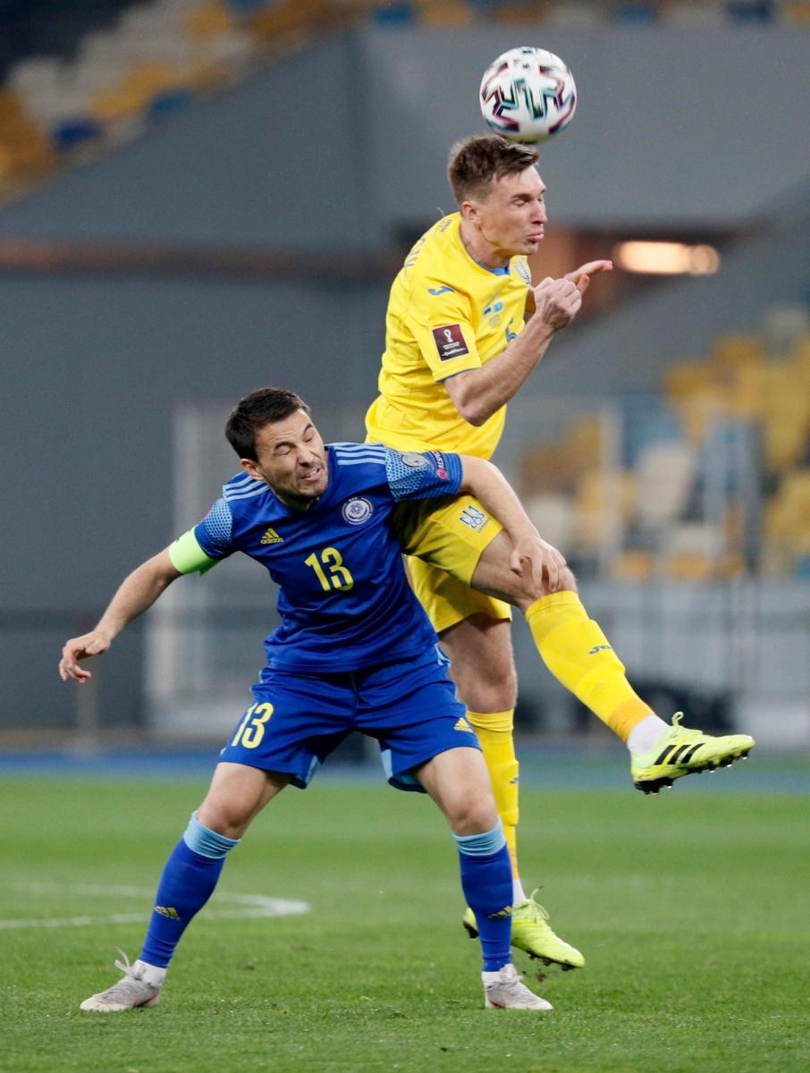 Україна - Казахстан Отбор на чемпионат мира