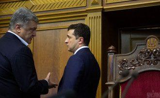 Порошенко підбирається до Зеленського за кого сьогодні голосували б українці