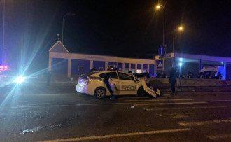 На трассе Киев-Одесса произошло жуткое ДТП с участием копа / Национальная полиция