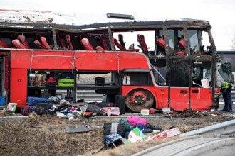 Автобус с украинцами попал в ДТП в Польше / tvn24.pl