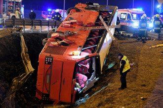 В Польше разбился автобус с украинцами / Darek Delmanowicz/PAP