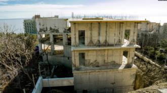 Оккупанты уничтожают Форосский парк