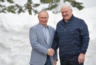 Лукашенко, Путин