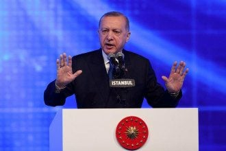 Эрдоган вступился за Путина, которого обозвал Байден