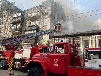 У столичному ресторані сталася потужна пожежа