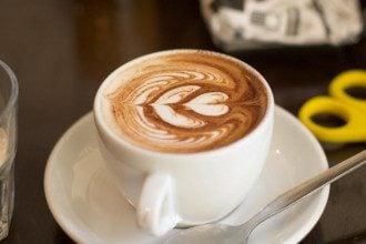 Кава, молоко