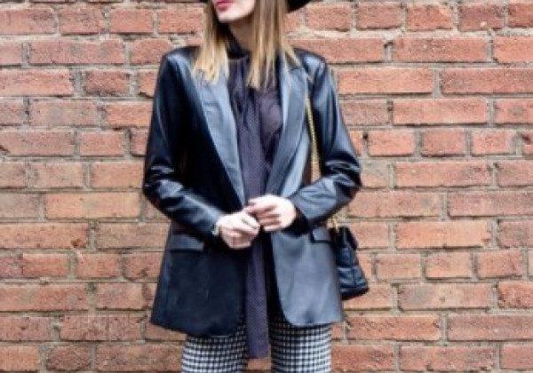 Модні шкіряні куртки жіночі 2021