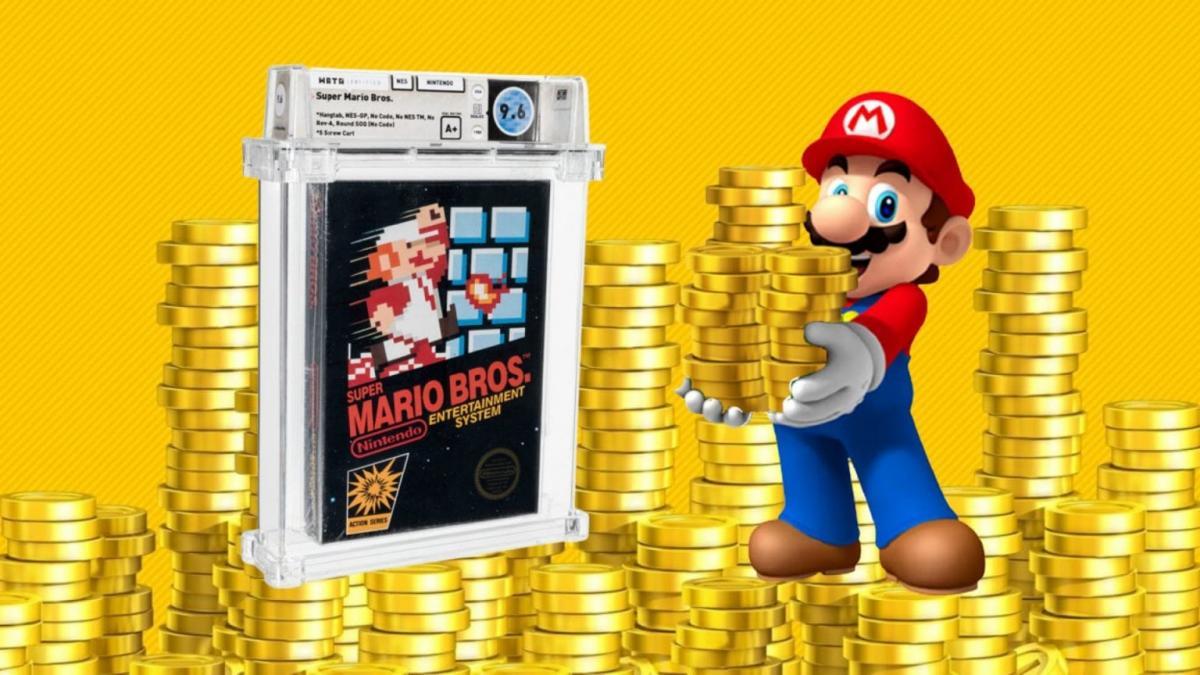 18 млн грн за картридж с Mario: продана самая дорогая игра в истории