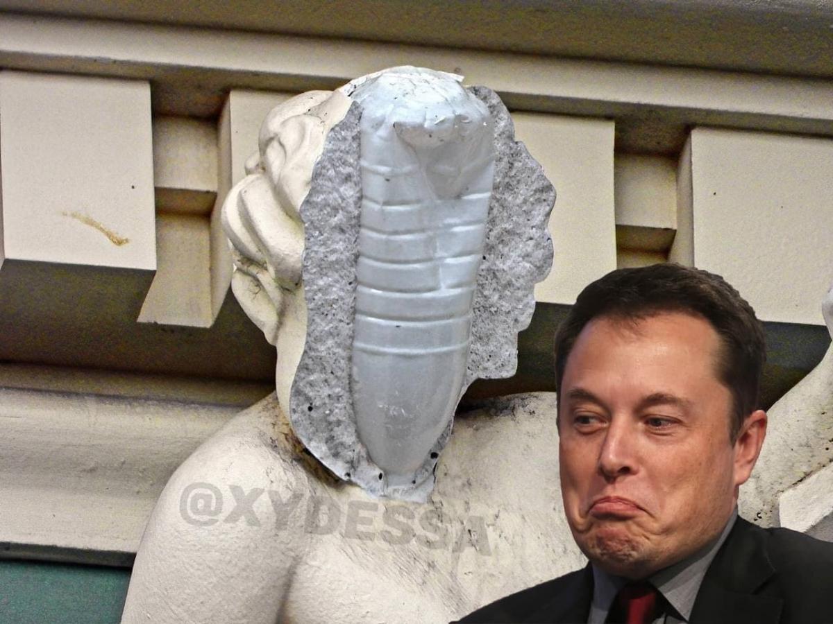 Фотожабы на ремонт скульптуры в Одессе