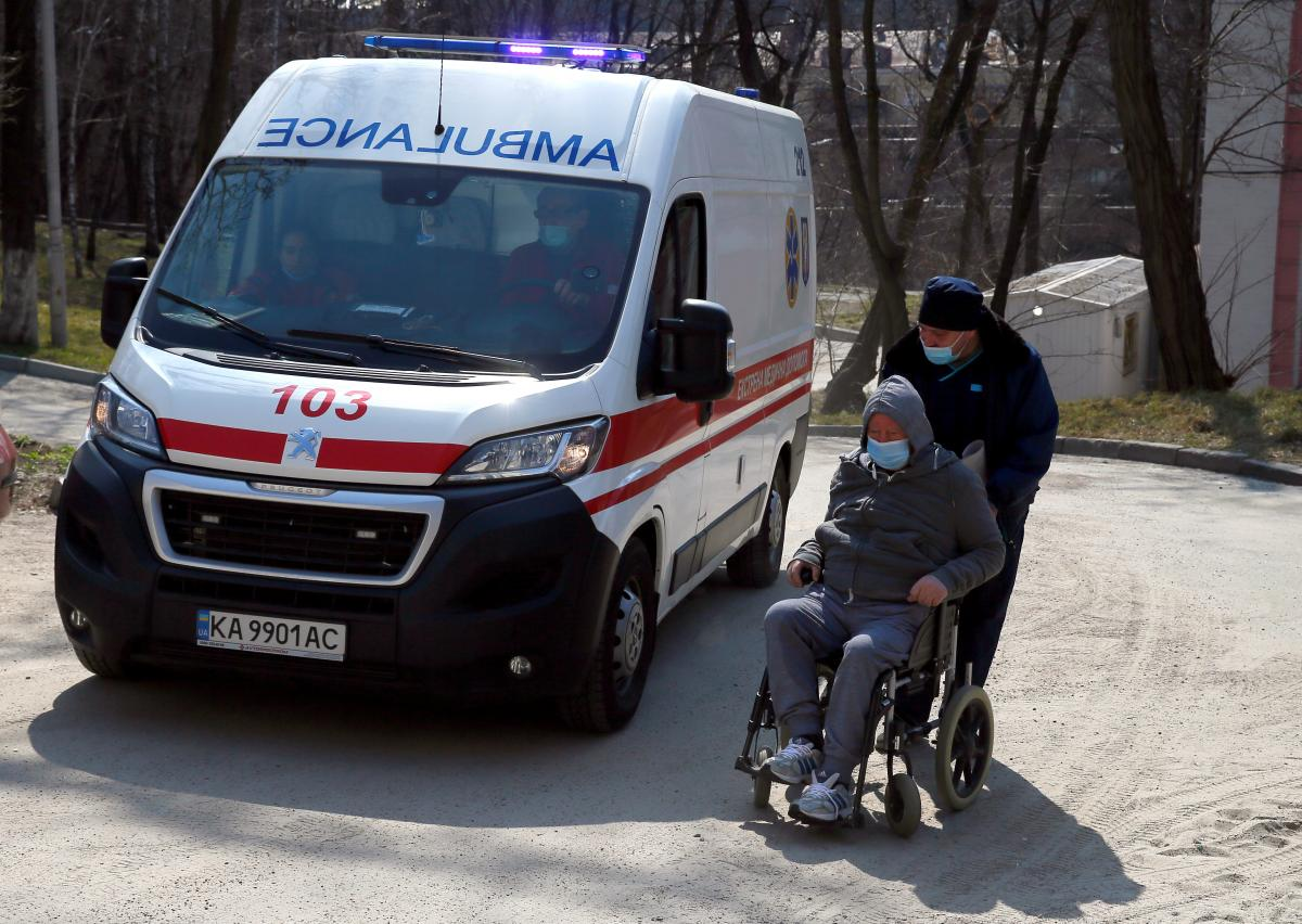 коронавірус в Україні, швидка допомога