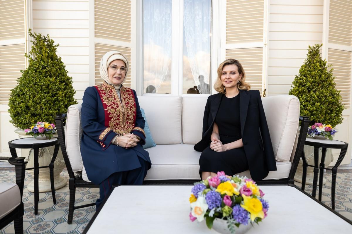 Елена Зеленская в Турции