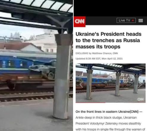 РФ звинуватила CNN у брехні щодо стягування військ до українських кордонів