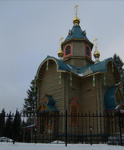 Дворец Путина на Валдае