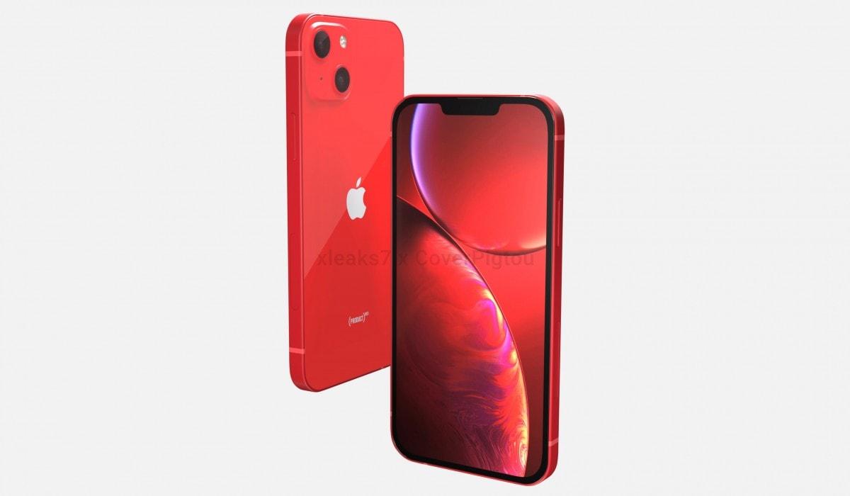iPhone 13 в червоному кольорі