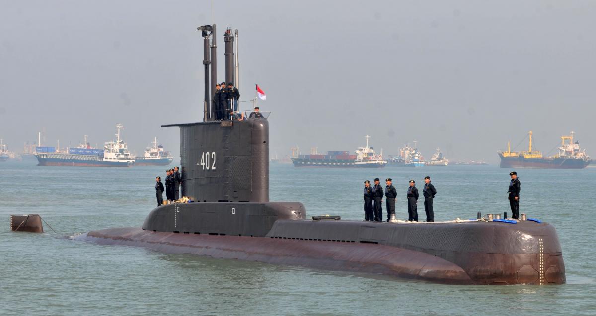 підводний човен Nanggala