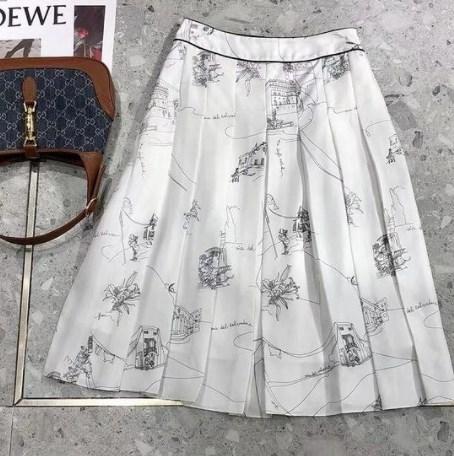 Модные юбки миди 2021 весна-лето