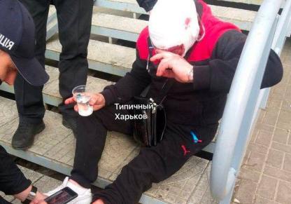 У Харкові біля буфету обстріляли людей, є постраждалі