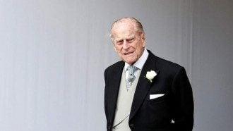 муж британской королевы умер