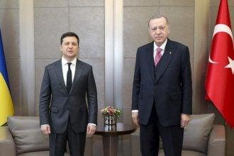 Зеленский провел переговоры с Эрдоганом