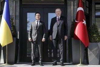 Эрдоган поддержал Киев по освобождению Донбасса