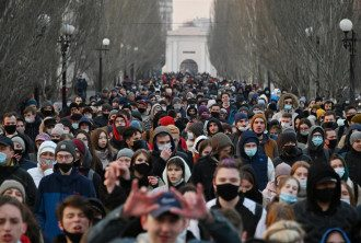 В России начались протесты в поддержку Навального