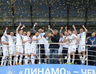 Динамо стало чемпионом УПЛ
