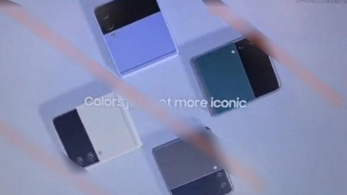 Samsung Galaxy Z Fold 3 на кадрах официальной презентации