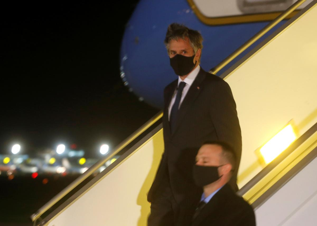Госсекретарь США в аэропорту Борисполь