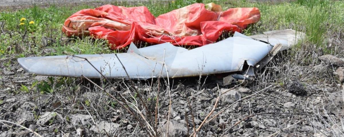В зоне ООС сбили БПЛА российско-оккупационных войск