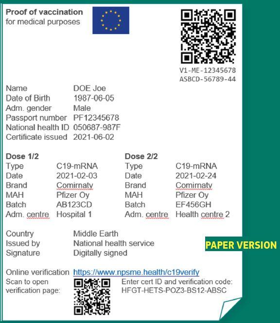 COVID-паспорт