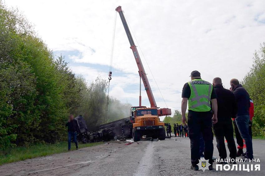 Смертельное ДТП в Хмельницкой области 15 мая 2021 года