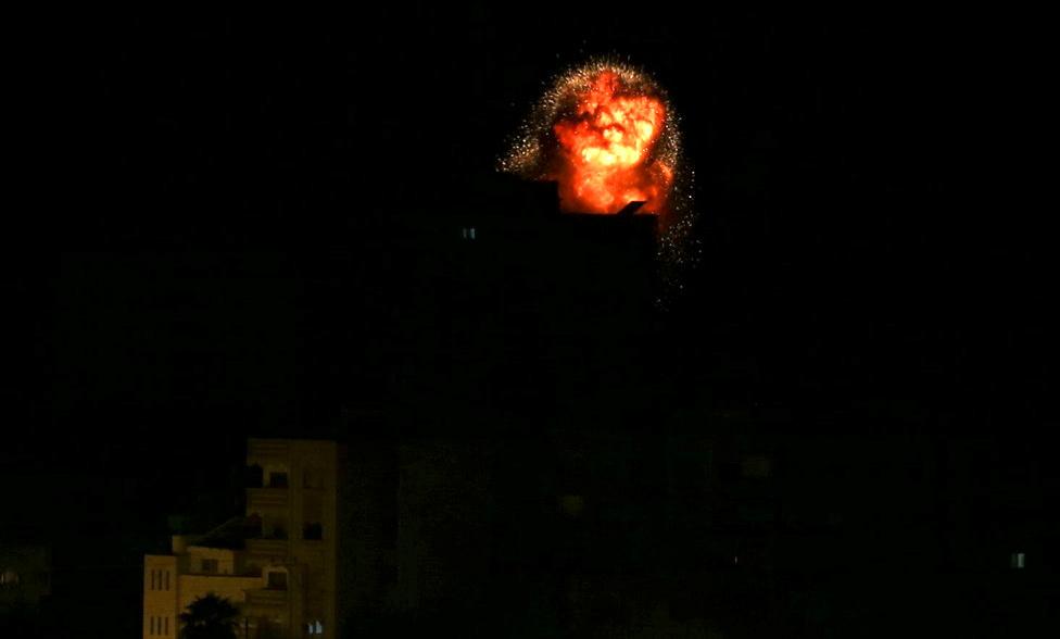 сектор Газа, обстрел