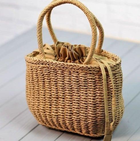 Модні солом'яні сумки 2021