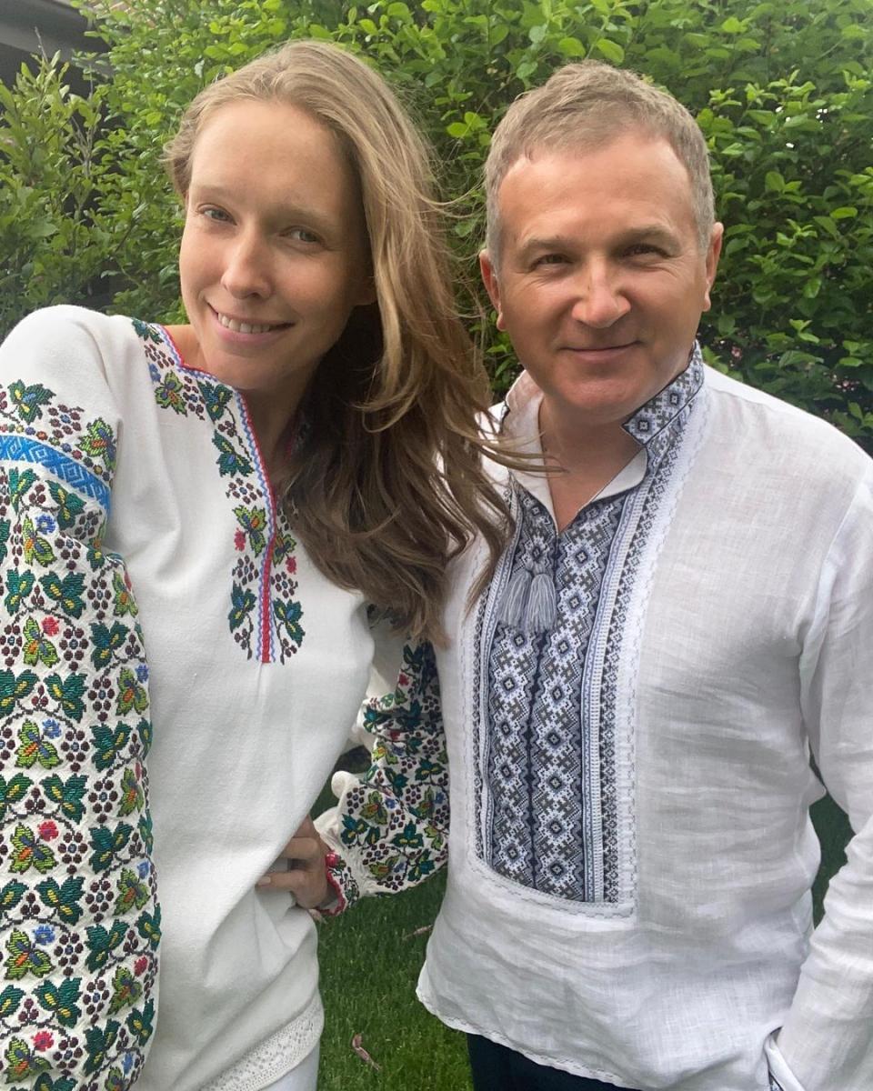 Катерина Осадча та Юрій Горбунов