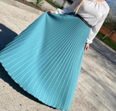 Модные юбки плиссе 2021