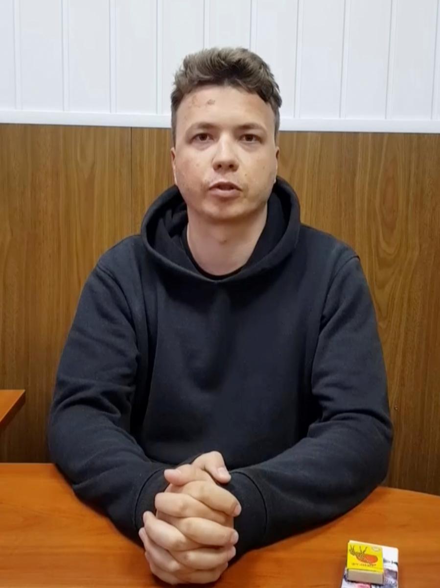 Роман Протасевич, допрос