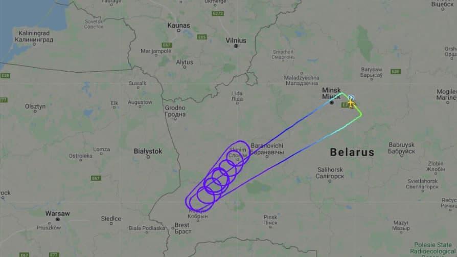 Польша не пропустила в Барселону самолет Белавиа