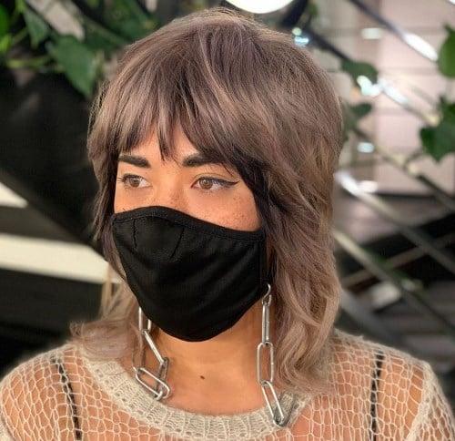 Модная стрижка шаллет 2021