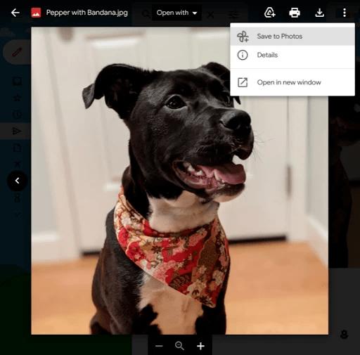 """Google добавила в Gmail новую кнопку """"Сохранить в фото"""""""