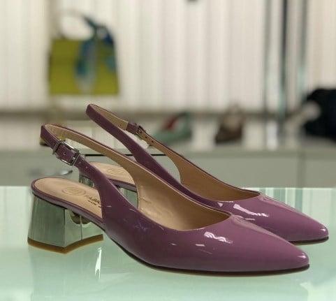 Модні туфлі слінгбеки 2021