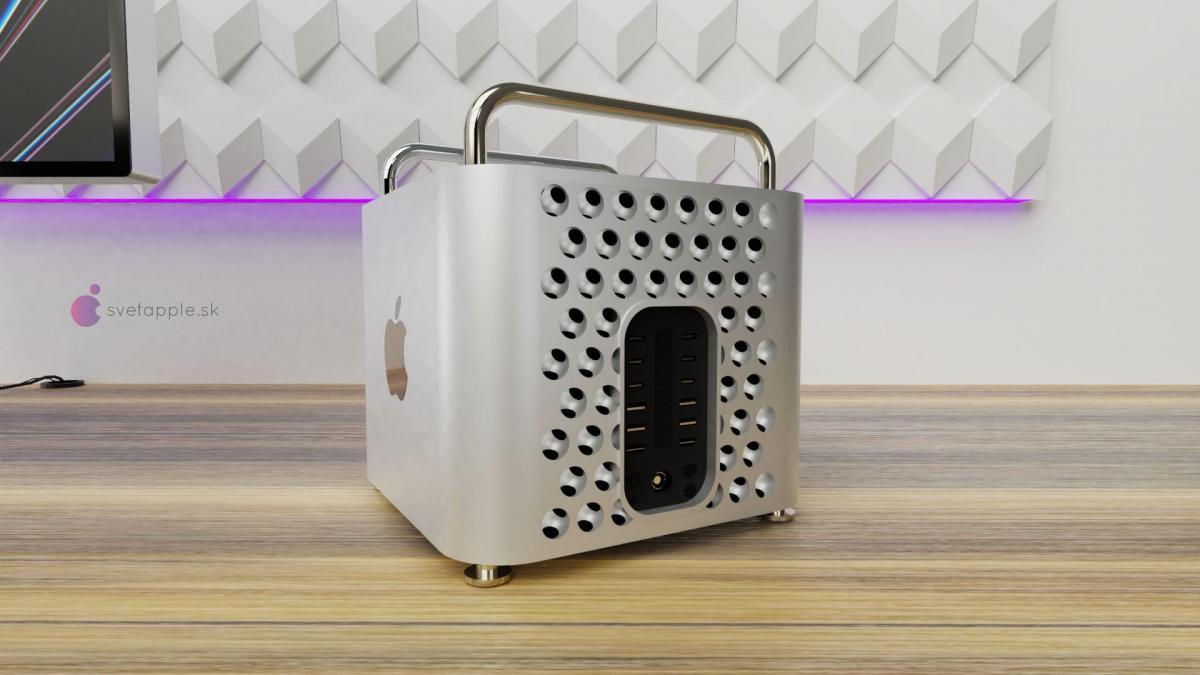 Концепт нового Mac Pro с Apple Silicon