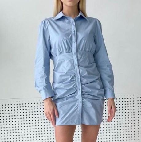 Модные платья-рубашки 2021