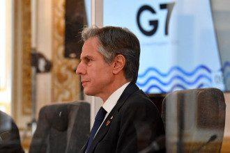 Энтони Блинкен на саммите G7 в Лондоне