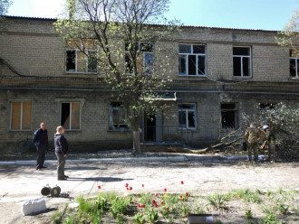 Боевики обстреляли Больницу