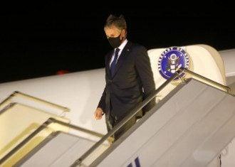 Госсекретарь США прилетел в аэропорт Борисполь