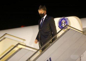 Держсекретар США прилетів в аеропорт Бориспіль